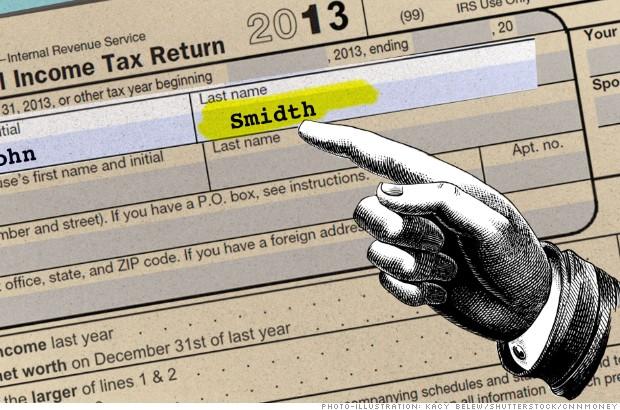 tax mistakes name