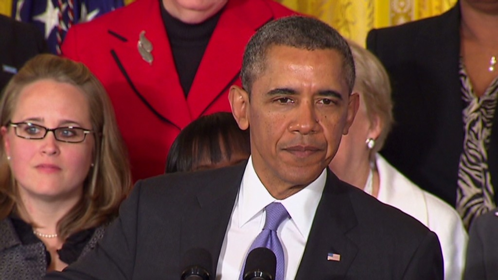 2 minutes of Obama on equal pay