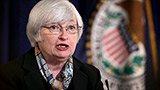 Stocks gain after Janet Yellen speech