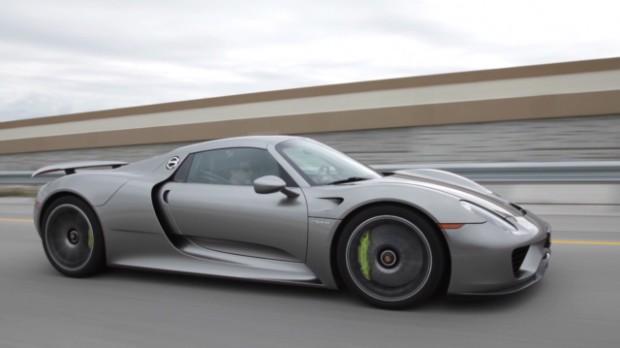 Driving a $845,000 Porsche plug-in hybrid