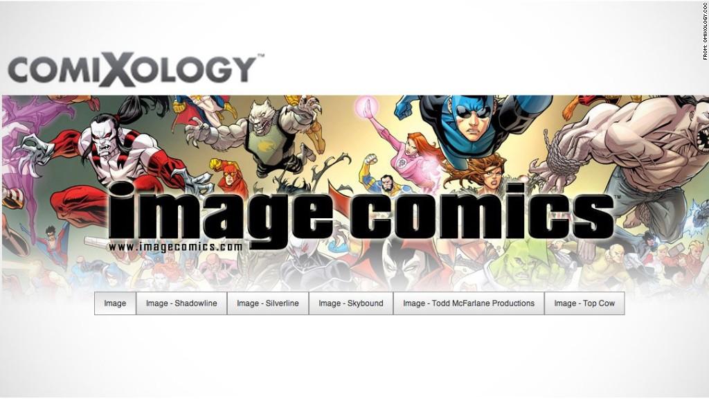 amazon acquires comixology