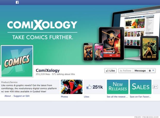 amazon businesses comixology