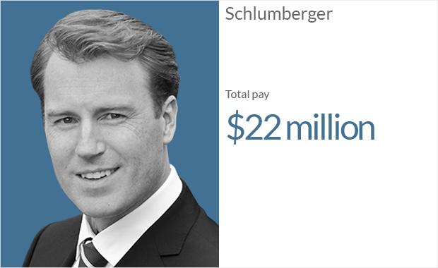ceo pay schlumberger 1