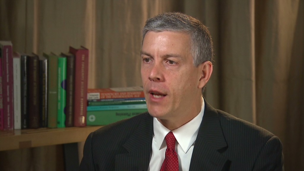 Arne Duncan: Time to rethink NCAA pay