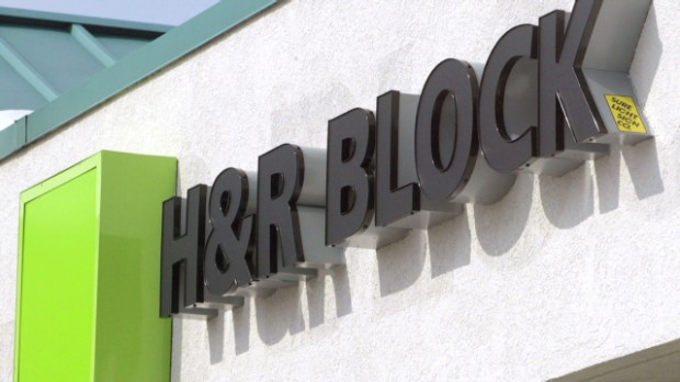 H&R Block up ... but not due to taxes