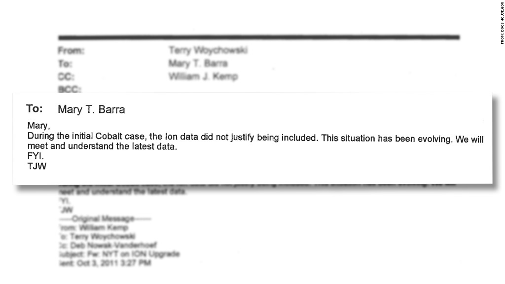 mary barra email