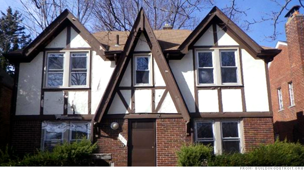 Detroit to auction vacant homes. Starting bid: $1,000