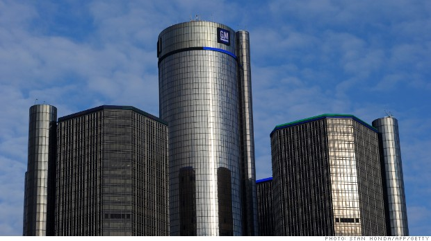 GM posts huge profit drop driven by ignition switch crisis