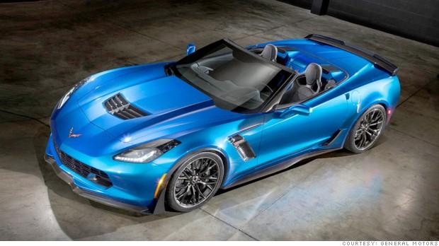 Gm Reveals Most Powerful Drop Top Corvette Apr 15 2014