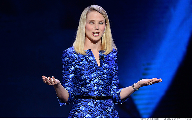 marissa mayer yahoo earnings