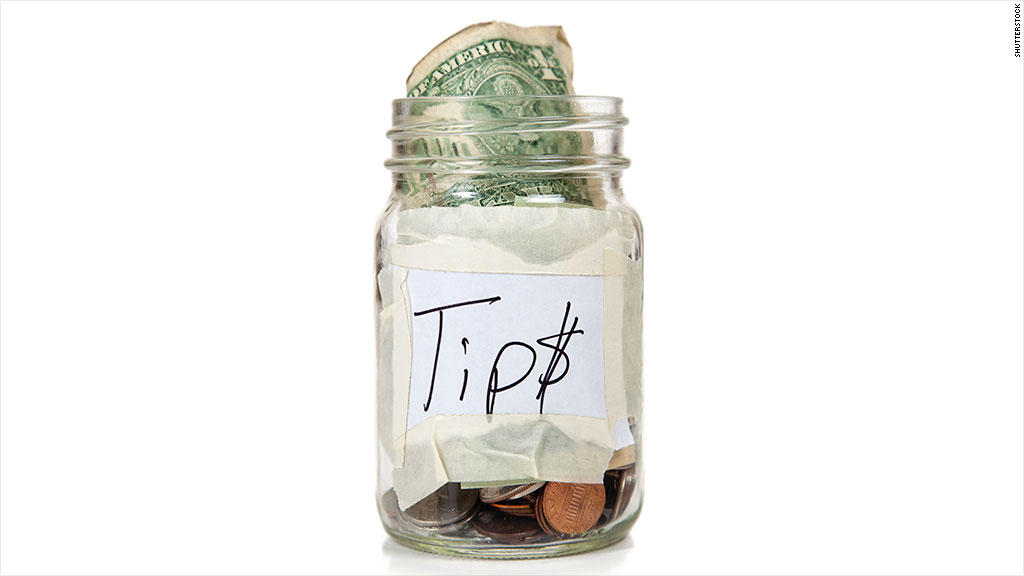 tipping occupations