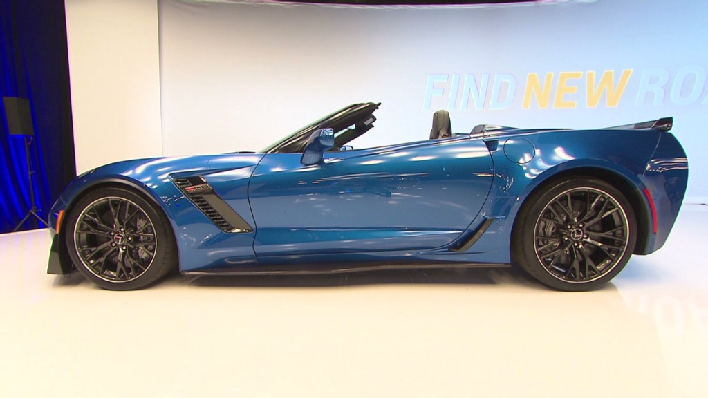 Corvette Z06 Convertible: A fast drop-top