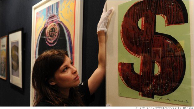Forget stocks! Wealthy flock to art funds