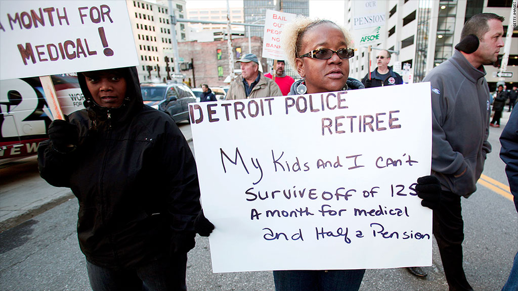 detroit city pensions