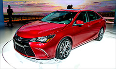Toyota's frumpy Camry gets a New York make-over