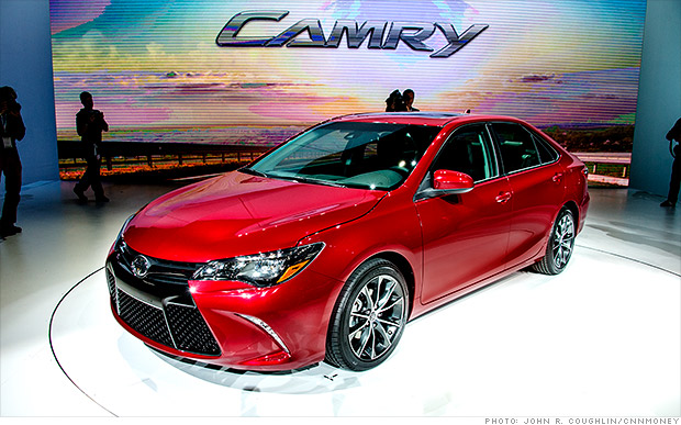 Toyota Revamps Camry's Looks to Sustain US Car-Volume Edge