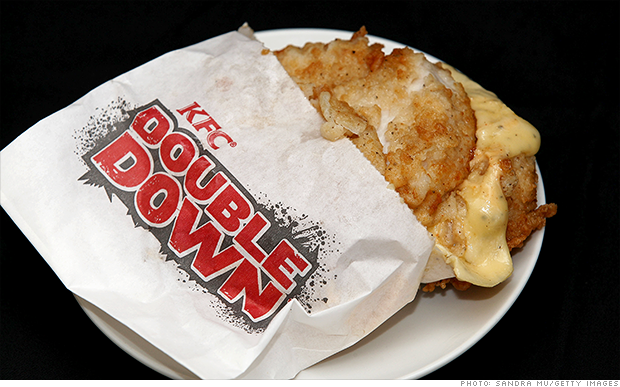 kfc double down returns