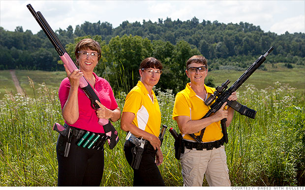 Female gun instructors in hot demand