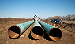 Keystone delay pounds TransCanada stock