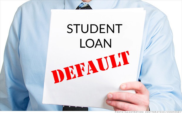 Grads default when co-signers can't pay