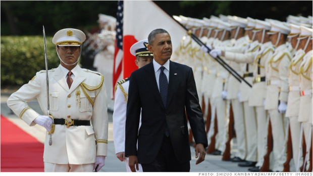 Obama fails to secure breakthrough in Japan trade talks