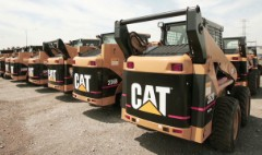 Caterpillar earnings drag market down