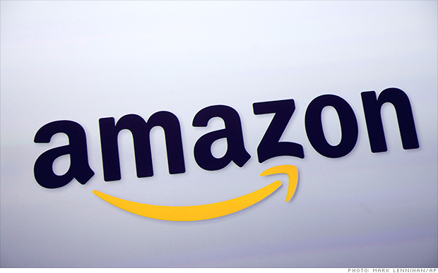 Amazon shares rise on strong earnings