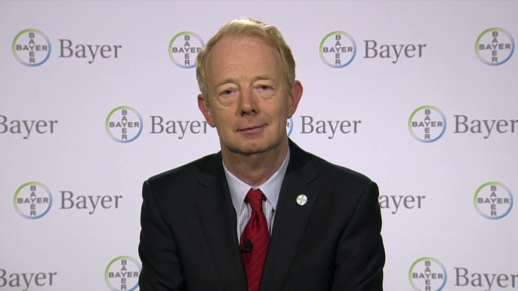 Bayer CEO on pharma mergers