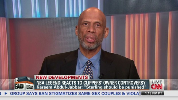 Abdul-Jabbar on 'plantation mentality'