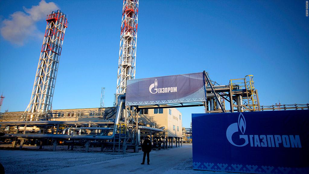 gazprom russia pipeline