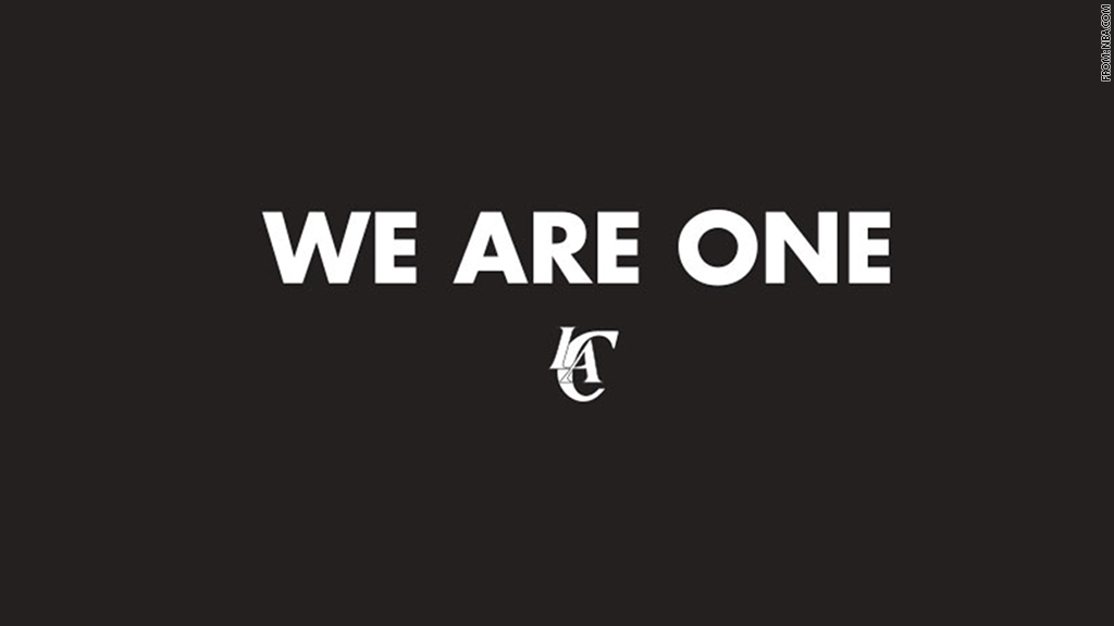 we are one la clippers
