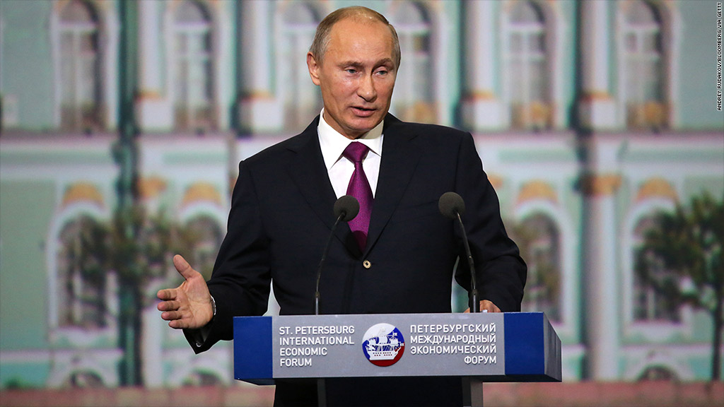 putin st petersburg economic forum