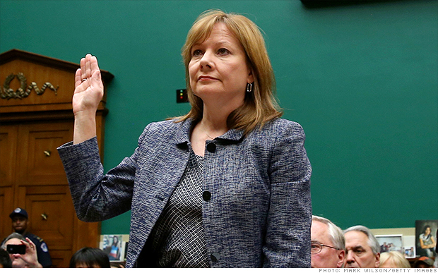 ceo list mary barra