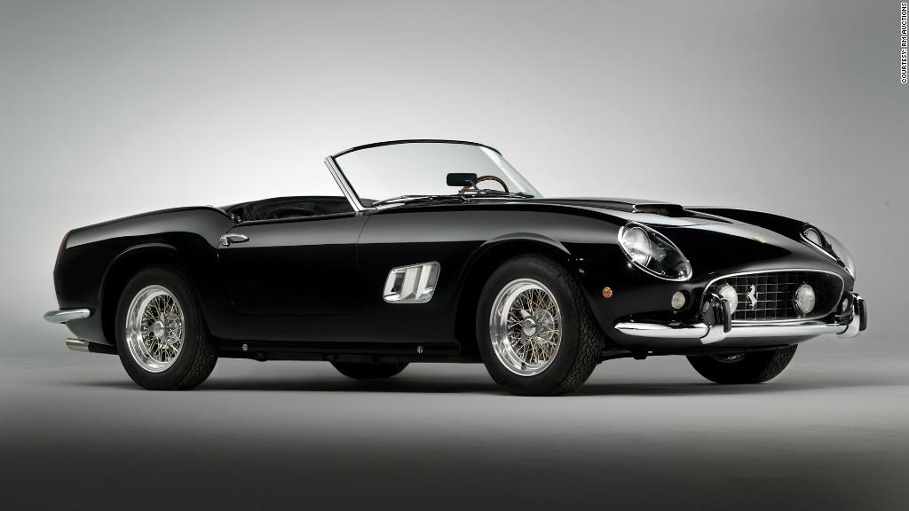 1961 ferrari 250 gt california spyder most expensive cars ever sold at auction cnnmoney. Black Bedroom Furniture Sets. Home Design Ideas