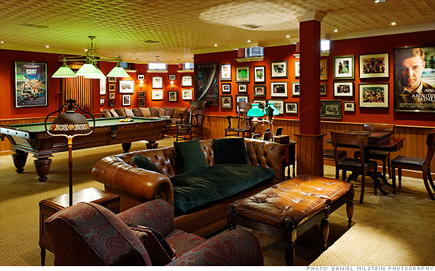 Game Room With Thrones For Sale Ron Howards House For