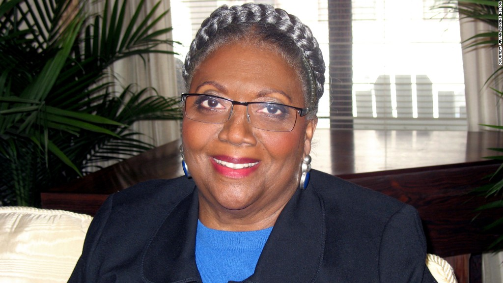 retired women vivian jenkins nelson