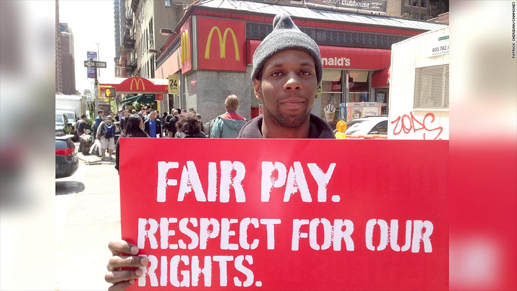 Us Fast Food Strike