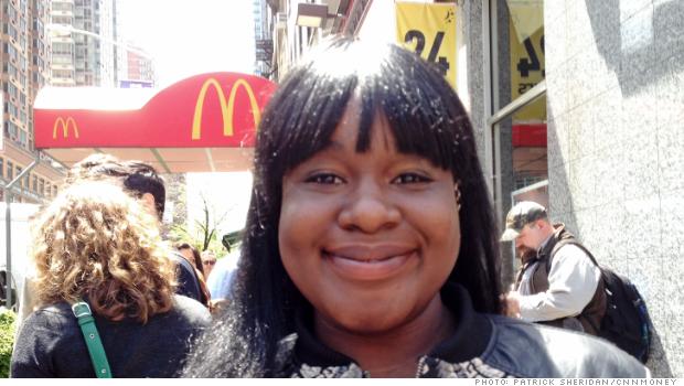 fast food strike elizabeth rene