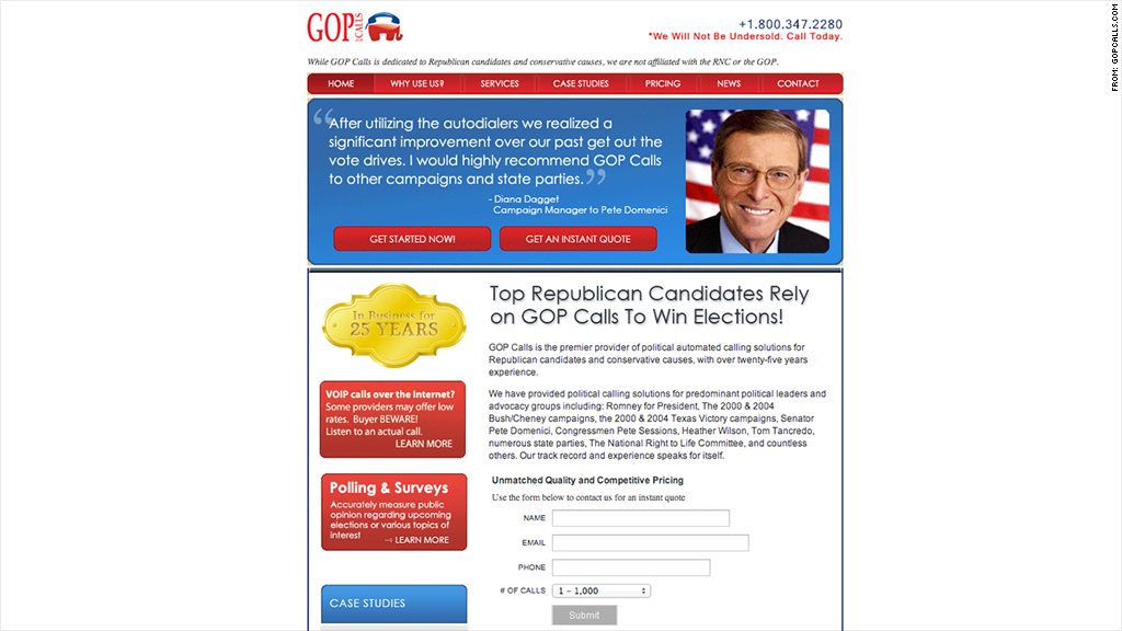 fcc gop robocalls