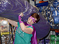 Mom's superhero capes take off