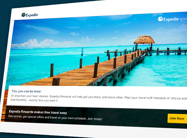 travel rewards expedia