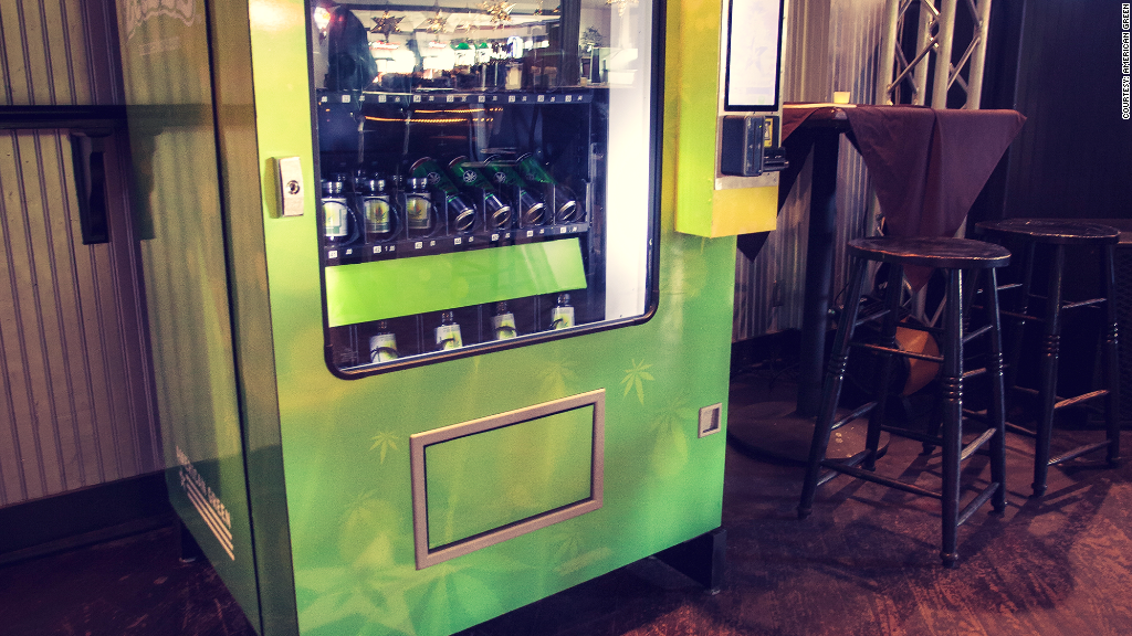 vending machine innovation marijuana