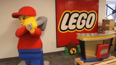 I get paid to play with LEGO