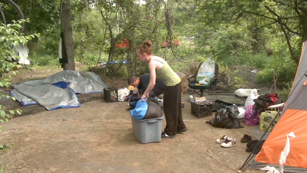 Tent city residents lose their homes & Americau0027s homeless: The rise of Tent City USA - May. 16 2014