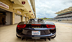 Porsche 918 - The future of fast
