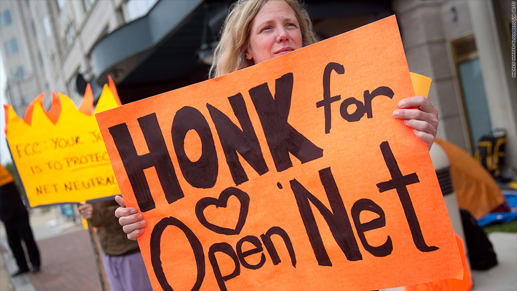 fcc protest net neutrality