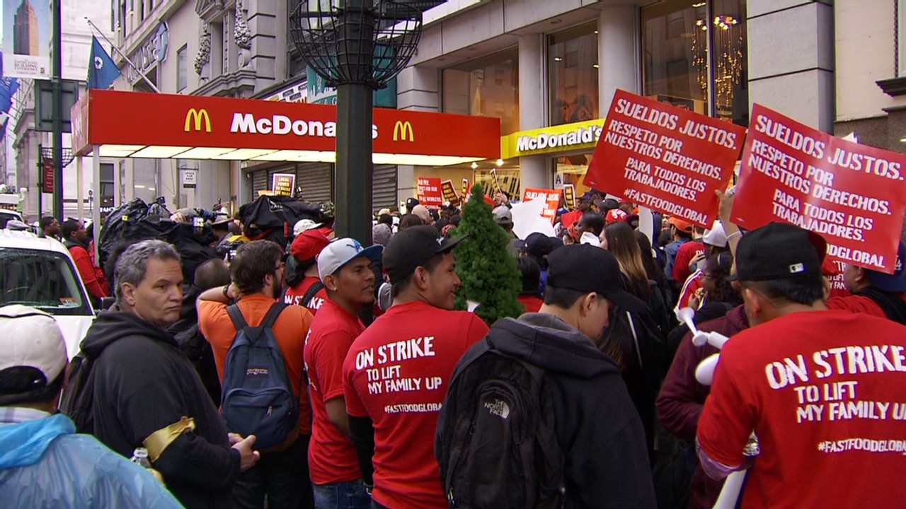 i work in fast food and i m not a teenager 30 2014 protesters double minimum wage