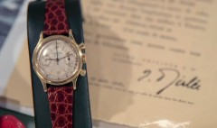Patek watch played a role in U.S. history