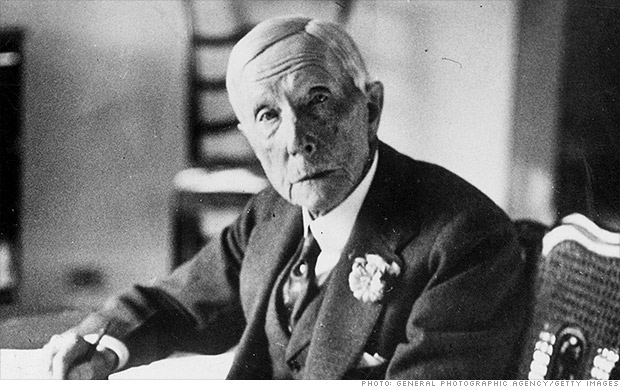 1 John D Rockefeller The Richest Americans In History