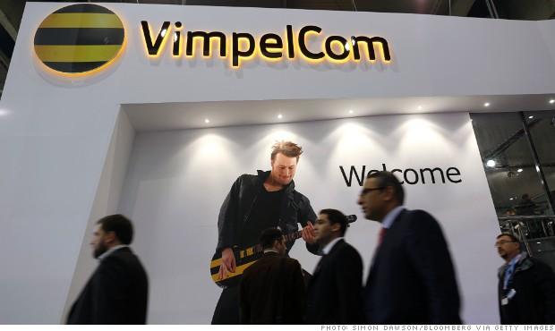vimpelcom hedge fund ownership